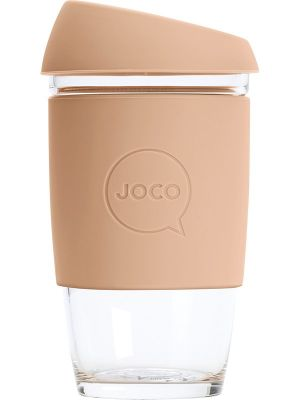 JOCO Reusable Glass Cup Extra Small 6oz - Amberlight 177ml