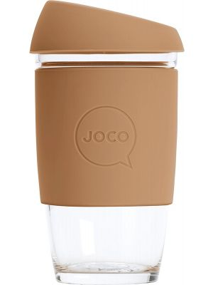 JOCO Reusable Glass Cup Extra Small 6oz - Butterum 177ml