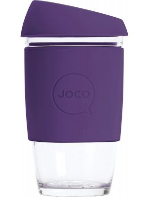 JOCO Reusable Glass Cup Extra Small 6oz - Violet 177ml