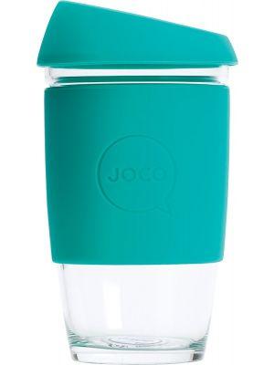 JOCO Reusable Glass Cup Large 16oz - Mint 473ml