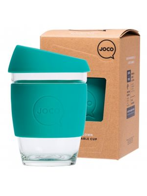 JOCO Reusable Glass Cup Regular 12oz - Mint 354ml