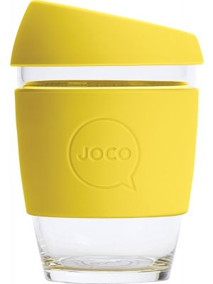 JOCO Reusable Glass Cup Regular 12oz - Meadowlark 354ml