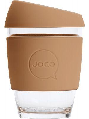 JOCO Reusable Glass Cup Regular 12oz - Butterum 354ml