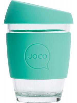 JOCO Reusable Glass Cup Regular 12oz - Vintage Green 354ml