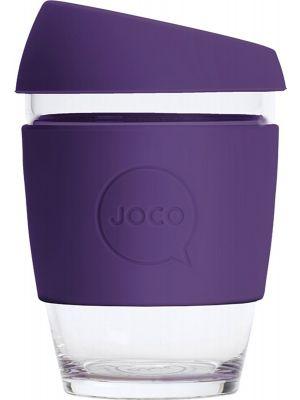 JOCO Reusable Glass Cup Regular 12oz - Violet 354ml