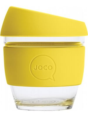 JOCO Reusable Glass Cup Small 8oz - Meadowlark 236ml