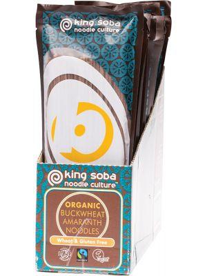 KING SOBA Buckwheat Noodles With Amaranth 12x250g