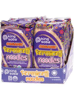 KING SOBA Vermicelli Noodles 12x250g