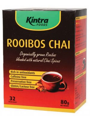KINTRA FOODS Roobois Chai Bags 80g