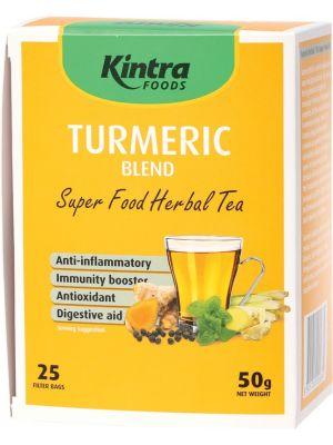 KINTRA FOODS Turmeric Blend Tea Bags X 25 50g