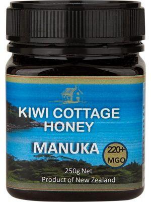 KIWI COTTAGE HONEY Manuka Honey - Multifloral 220+ MGO 250g