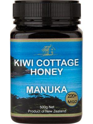 KIWI COTTAGE HONEY Manuka Honey - Multifloral 220+ MGO 500g