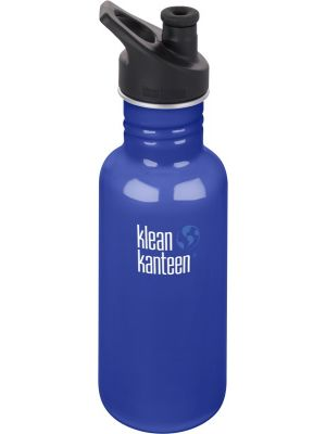 KLEAN KANTEEN Stainless Steel Bottle Coastal Waters - Sports Cap 532ml