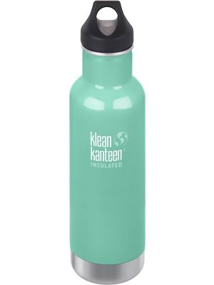 KLEAN KANTEEN Stainless Steel Bottle Insulated Sea Crest - Loop Cap 592ml