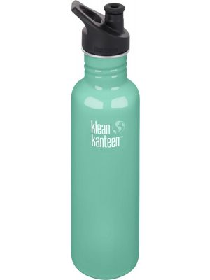 KLEAN KANTEEN Stainless Steel Bottle Sea Crest - Sports Cap 800ml