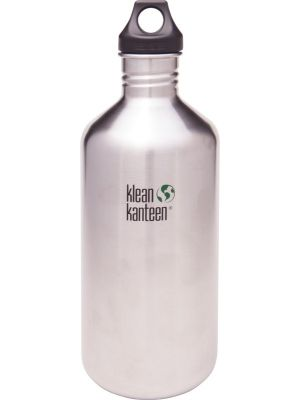 KLEAN KANTEEN Stainless Steel Bottle Brushed Stainless - Loop Cap 1900ml