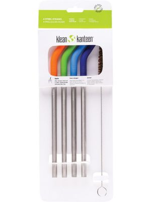 KLEAN KANTEEN Stainless Steel Straws - Bent Multicoloured 4