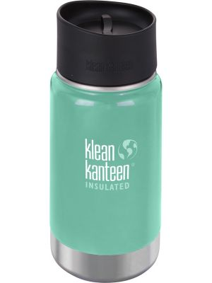 KLEAN KANTEEN Wide Insulated Travel Mug Sea Crest - Café Cup 355ml