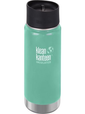 KLEAN KANTEEN Wide Insulated Travel Mug Sea Crest - Café Cup 473ml