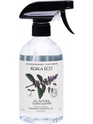 KOALA ECO Glass Cleaner 100% Peppermint Essential Oil 500ml