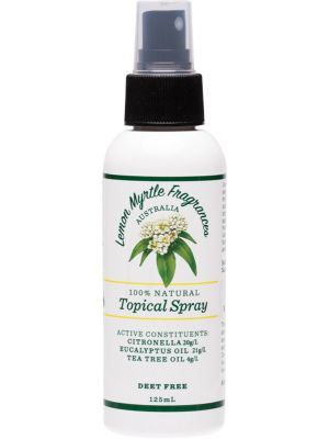 LEMON MYRTLE FRAGRANCES Outdoor Protection 125ml