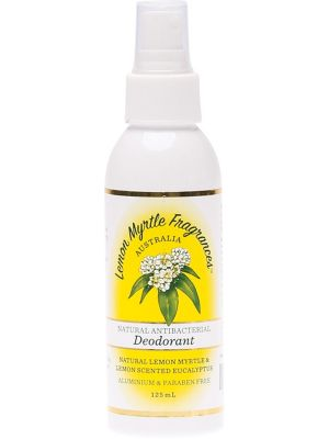 Lemon Myrtle Fragrances Deodorant Spray 125ml