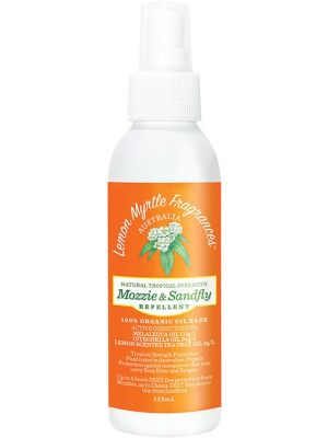 LEMON MYRTLE FRAGRANCES Mozzie & Sandfly Repellent 125ml