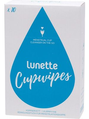 LUNETTE Disinfecting Wipes 10