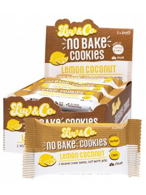 LUV SUM LUV & CO No Bake Cookies Lemon Coconut 12x40g