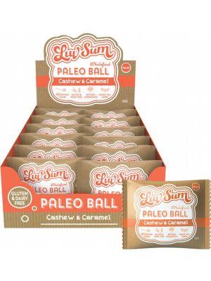 LUV SUM Paleo Ball Cashew & Caramel 12x42g