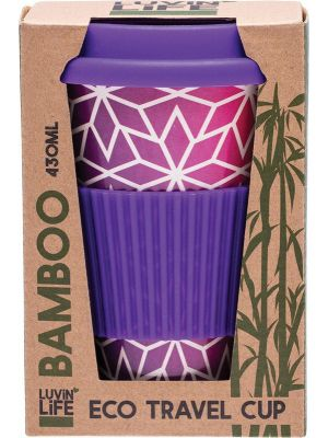 LUVIN LIFE Bamboo Travel Cup Stars 430ml