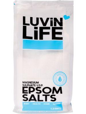 LUVIN LIFE Epsom Salts Magnesium Sulphate U.S.P. 1.25kg