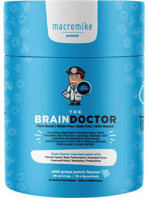 MACRO MIKE The Brain Doctor Wild Grape Punch Flavour 30x5g