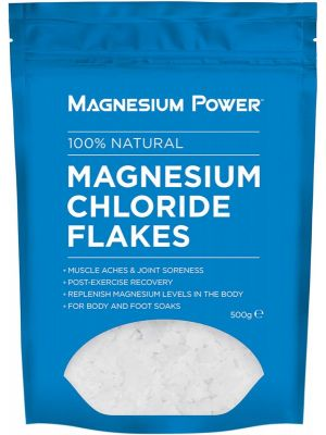 MAGNESIUM POWER Magnesium Chloride Flakes 100% Natural 500g