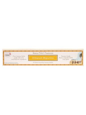 MARCO POLO'S TREASURES Incense Sticks Olibanum Migiurtino 10