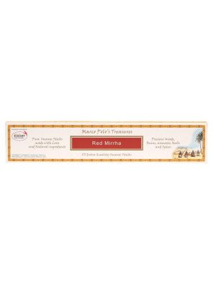 MARCO POLO'S TREASURES Incense Sticks Red Mirrha 10