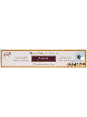 MARCO POLO'S TREASURES Incense Sticks Patchouli 10