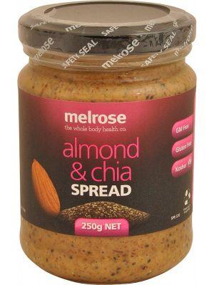 MELROSE Almond & Chia Spread 250g