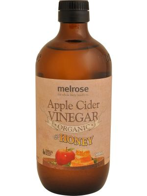 MELROSE Apple Cider Vinegar Organic With Honey 500ml