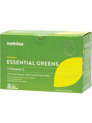 MELROSE Essential Greens + Vitamin C 30x3g