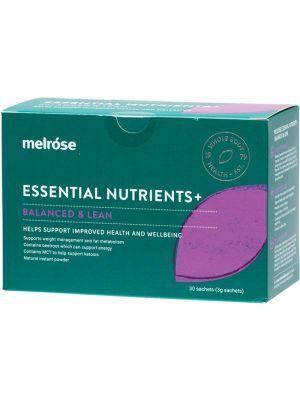 MELROSE Essential Nutrients + Balanced & Lean 30x3g