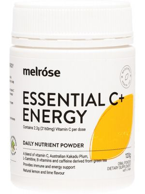 MELROSE Essential Vitamin C+ Energy 120g