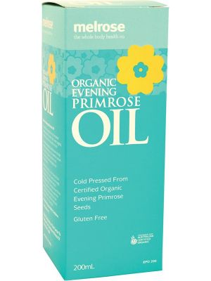 MELROSE Evening Primrose Oil Organic 200ml