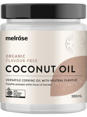 MELROSE Flavour Free Coconut Oil Organic 380ml