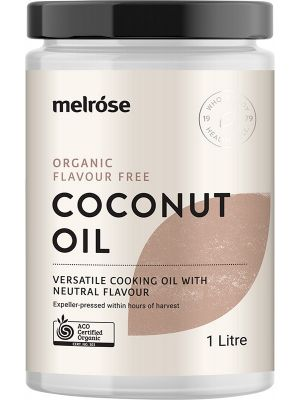 MELROSE Flavour Free Coconut Oil Organic 1L