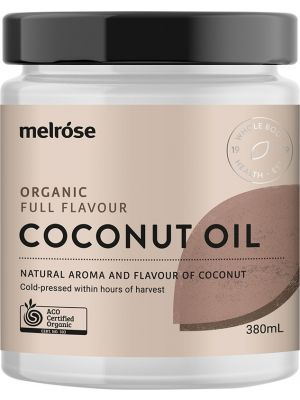 MELROSE Full Flavour Coconut Oil Organic 380ml