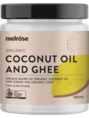 MELROSE Grass Fed Ghee & Coconut Blend Organic 380ml