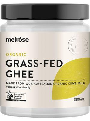 MELROSE Grass Fed Ghee Organic 380ml