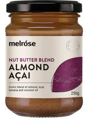 MELROSE Nut Butter Spread Almond-Acai 250g