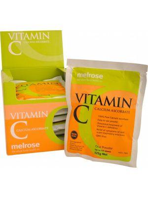 MELROSE Vitamin C Calcium Ascorbate 8x125g